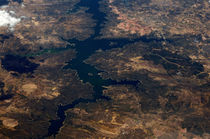 Land Fluss von oben by fotolos