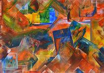 Leuchtende Farbkreationen  by Ulrike Kröll