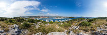 Kroatien, Rogoznica: Blick auf die Marina Frapa von Ernst  Michalek
