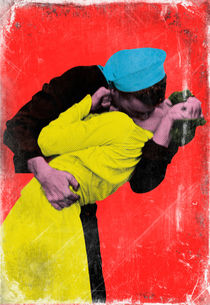 Alfred Eisenstaedt's Kiss by Giovanni Balletta