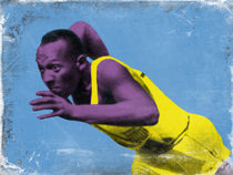 Jesse Owens by Giovanni Balletta