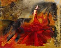 Red Dress Valeroso 107A von David Smith