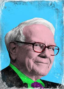 Warren Buffet portraits by Giovanni Balletta