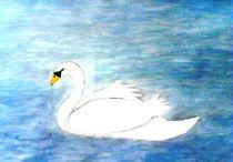 The white swan von nellyart