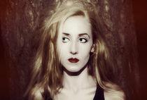blonde woman with long hair von Igor Korionov