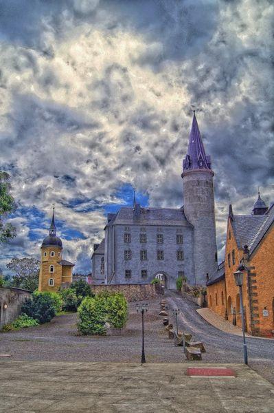 Schloss-purschenstein-impressionistisch
