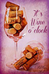 Wine Time von Clare Bevan