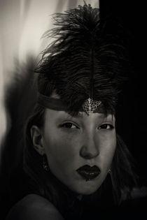Portrait of a cabaret dancer by Igor Korionov