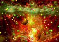 Feuerrad Galaxie by Eva Borowski