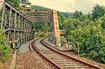Stillgelegte Bahnstrecke Grünthal im Erzgebirge by Helmut Schneller