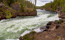 The Yellowstone River by John Bailey