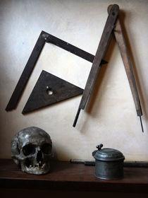 stil life with skull by Katia Terpigoreva