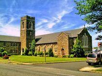 Kirche in Pennsylvania by Helmut Schneller
