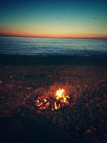 evening on the beach by istarzewska