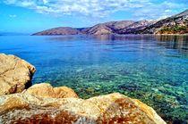 Insel Krk in Kroatien by Helmut Schneller