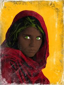 Sharbat Gula - The Afghan Girl by Giovanni Balletta