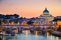 Basilica St Peter in Rome, Italy by Michael Abid