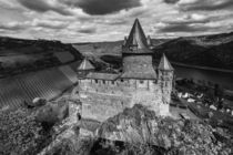 Burg Stahleck 7-sw by Erhard Hess