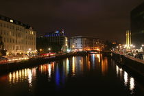 River Spree at night von atari-frosch