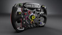 F1 Steering Wheel by Djordje Jovanovic
