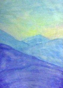 Blue hills by nellyart