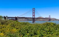 The Golden Gate Bridge From Crissy Field von John Bailey