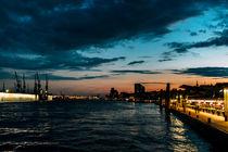 Elbpanorama Hamburg von Stephan Bestmann