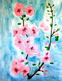 Cherry blossom by nellyart