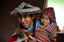 Mama und Kind in Peru by purpurorange
