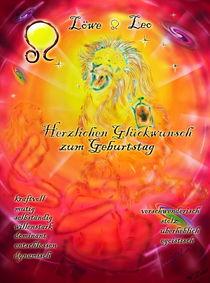 Sternzeichen Löwe Herzlichen Glückwunsch zum Gebuertstag von Walter Zettl
