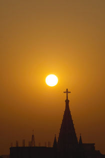 church sunrise von Sandro Loos