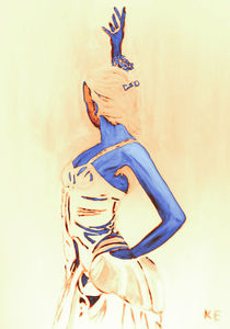 Das Temperament des Flamencos von Klaus Engels