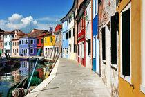Venice, Burano island von Tania Lerro