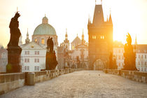 Charles Bridge, Prague  by tanialerro