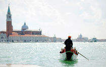 venetian gondola, venice by tanialerro