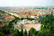Panorama of Milan by Tania Lerro