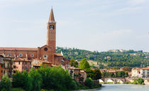 Panorama of Verona. Italy by Tania Lerro