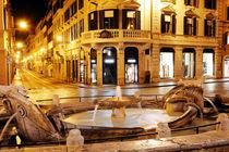 Spanish square, Rome, Italy by Tania Lerro