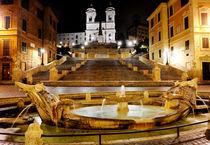Piazza di Spagna, Rome, Italy von Tania Lerro
