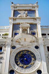 St Mark's Clocktower, Venice. Italy von Tania Lerro