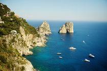 Faraglioni, Capri by Tania Lerro