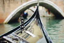 Venetian gondola. Italy by Tania Lerro