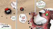 Spidy und Fussel Comic by tintenrebell