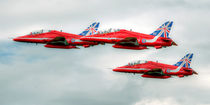 Red Arrows - 50 Display Seasons von Steve H Clark Photography