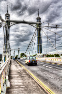 The Albert Bridge London von David Pyatt