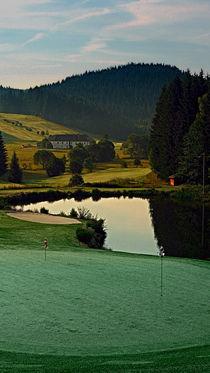 'Sommermorgen am Golfplatz   Landschaftsfotografie' by Patrick Jobst