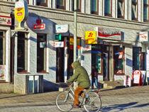 HamburgDigitals - Davidstraße mit Radfahrer - © adMeyer von Christian Meyer-Pedersen