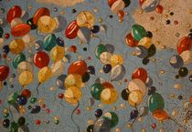 Colourful balloons  von Marlene Coble