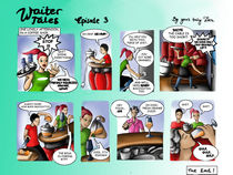 Waiter Tales Comic, episode 3 von Dora Vukicevic