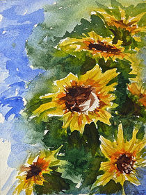 Sunflowers von Andreas Theis